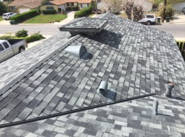 Re-Roofing Job After